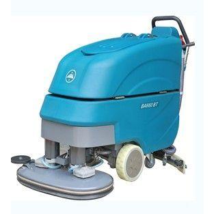 供应河南小型工厂用洗地机 河南哪里买洗地机 洁驰双刷智能洗地机