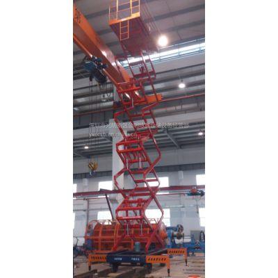 深圳室外作业平台移动剪刀式升降机