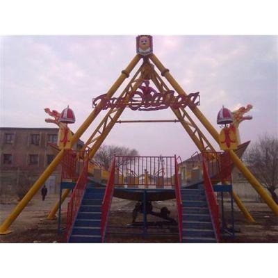 海盗船、郑州顺航游乐、海盗船视频