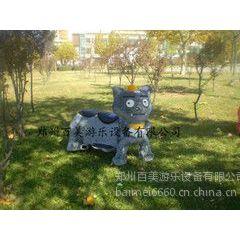 山东毛绒电瓶车单人座 灰太狼毛绒电动车 玩具车模型价格