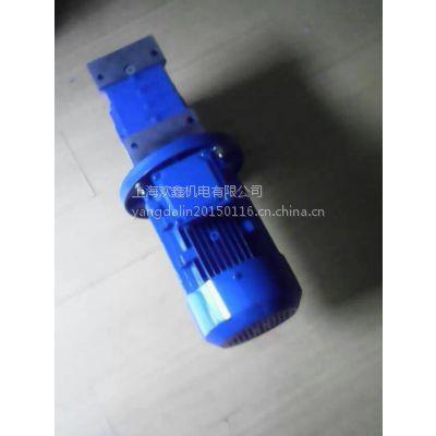 秦皇岛塑料包装机械常用万鑫涡轮减速机NMRV110-50-1.5KW