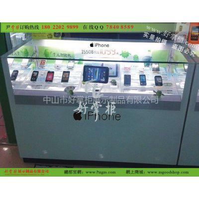 供应iphone4S手机专柜,苹果5S手机配件展柜,时尚款苹果手机体验