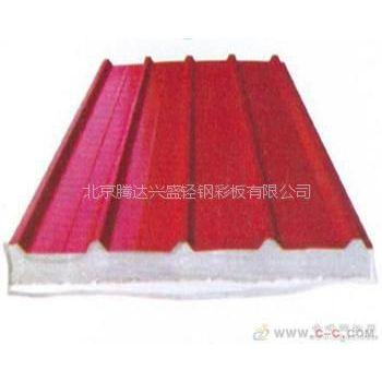 供应生产销售热镀锌V950型,8公斤灰色彩钢泡沫阻燃板质优价廉腾达彩钢