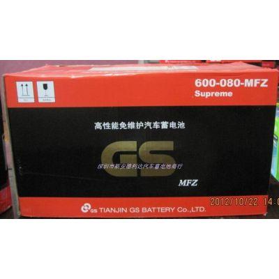 供应深圳统一电池奔驰汽车专用蓄电池