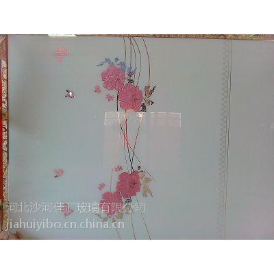 5MM烤漆冰花玻璃 衣柜门、移门、推拉门玻璃 可开介尺寸