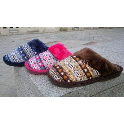 供应加厚棉拖室内棉鞋居家拖鞋秋冬季时尚家居厚底木地板棉拖鞋批发