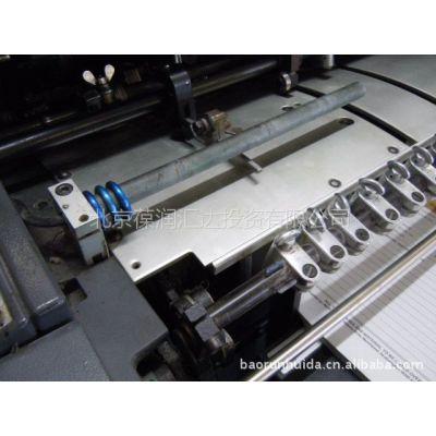 供应进口1998年海德堡GTO型单色8开胶印机