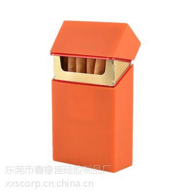 厂家供应彩色硅胶烟盒 硅胶礼品 环保材质 防水防滑手感柔软内贸外贸