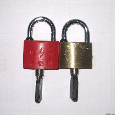 供应铜挂锁塑钢锁