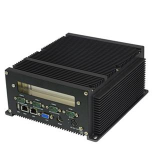 供应顺元TBX-202集成CPU和内存带2个PCI插槽的无风扇工控机