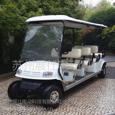 山东济南电动高尔夫球车 8座售楼看房车 景区游览电瓶车