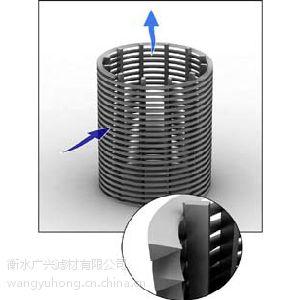 嵌入式斜槽线金属滤网,胺液过滤器滤芯