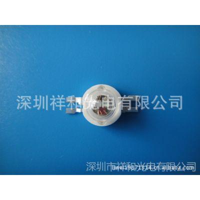 供应3W四脚RGB/led3W大功率灯珠/LED灯珠/led大功率集成面光源