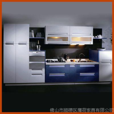 批量供应304#整体不锈钢厨柜 耐用品厨房家具批发