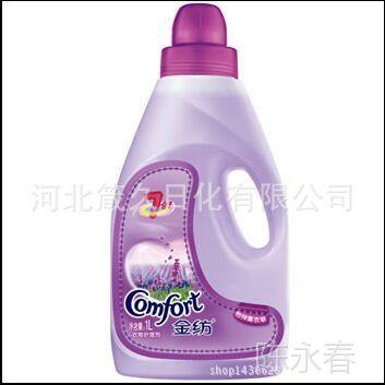 金纺清新柔顺1L 衣物柔顺剂 护理剂洗护清洁剂