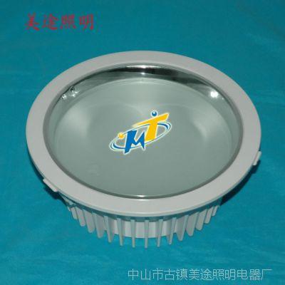 6寸压铸筒灯配件 筒灯外壳配件 筒灯外壳 压铸内置电源筒灯外壳