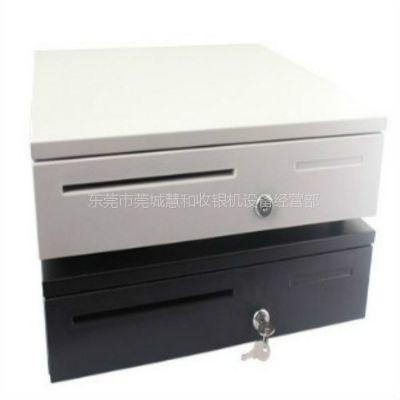 供应厂家405五格三档收银机钱箱pos收款机钱箱 可独立使用自动弹钱箱