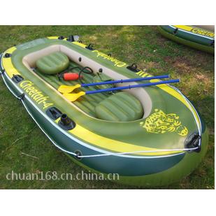 猎豹四人橡皮艇/钓鱼船/充气橡皮船/充气艇/皮划艇