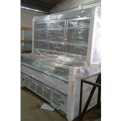 供应珠海麻辣烫点菜柜冰箱价格/超市子母展示柜生产厂家
