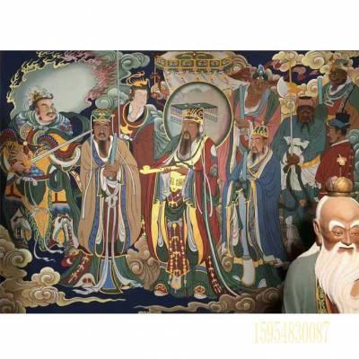 佛道壁画古建筑彩绘和中医治疗鼻炎