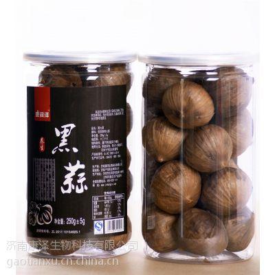 康润泽桶装黑蒜,黑蒜独头,500g,山东特产。