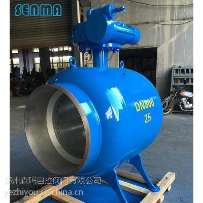 SENMA热力管道专用全焊接球阀Q367F