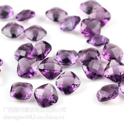 厂家直批、供应AAA级八心八箭锆石 钻石 裸石批发