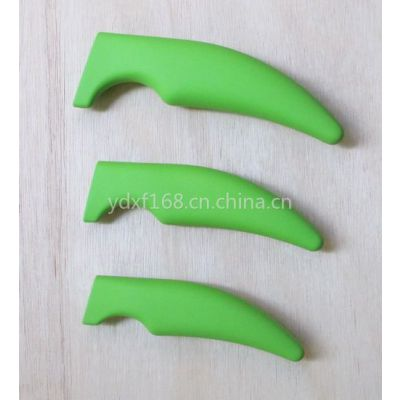 供应厂家供应塑料刀柄  喷橡胶把手 ABS TPR把手 削皮刀柄   水果柄  厨用柄
