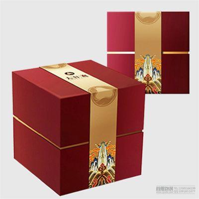 月饼礼盒设计制作 纸质礼品包装盒定做