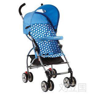 好孩子D285超轻宽大座位婴儿可折叠婴儿手推车带前轮刹车