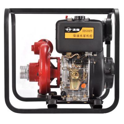 3寸柴油机高压水泵 高扬程柴油水泵3寸 汉萨3寸柴油机水泵HS30PI