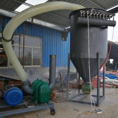 移动式晒场粮仓装车高扬程吸粮机 维护方便气力吸料机