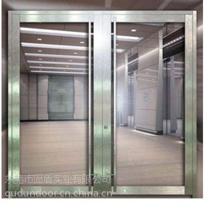 梅州市黑钛乙级不锈钢防火玻璃门,梅州市不锈钢双开防火门厂批发价格质量保证