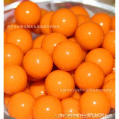 DIY串珠材料 实色糖果散珠 亚克力珠子批发 手工材料配件 3--30MM