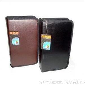 供应厚内页CD包 10C纯皮80片 光盘包/皮DVD包 碟片光盘保护包