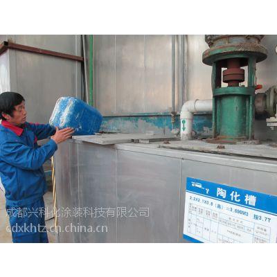 兴科牌F-6型无磷表面处理用四川成都陶化液纳米陶化剂硅烷陶化剂生产厂家