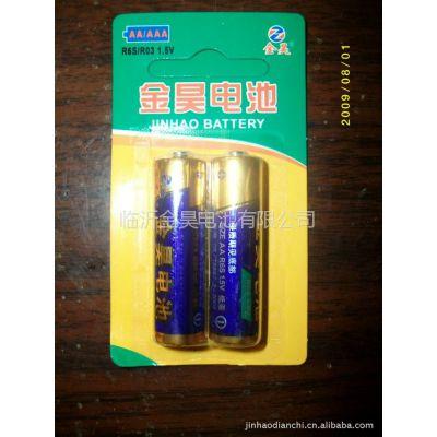 供应金昊R6SP2粒挂卡装干电池