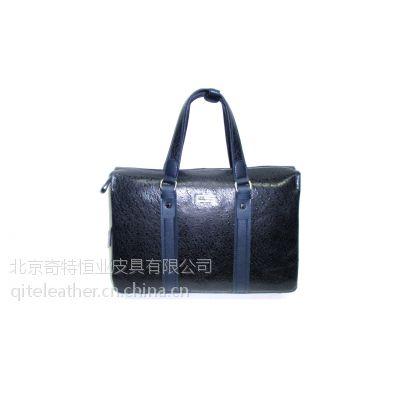 奇特厂家供应高档真皮公文包36,公文包定制,皮具定制,广州皮具厂