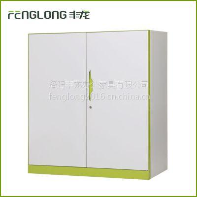 丰龙办公家具厂家直销钢制铁皮柜三层储物柜文件柜矮柜档案柜