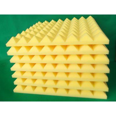 供应坤耐吸音棉-隔音棉-吸音材料-隔音材料-波峰型金字塔海绵
