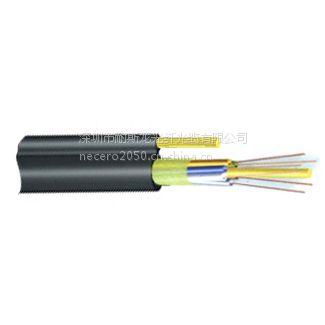 直供耐斯龙12芯多模非金属8字型室外架空光缆GYFTC8Y-12B1 阻燃光缆 可定制