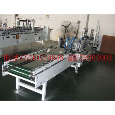 广东东莞华杰机械厂家供应HJ-480S小型高效高速糊盒机,纸盒机器