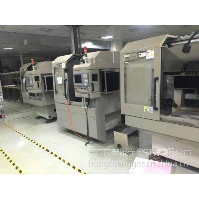二手台湾纬莹CCD玻璃异形开料机