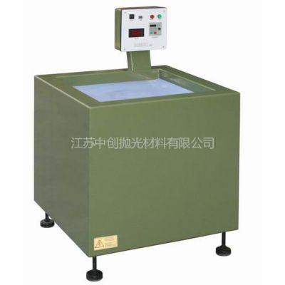 供应不锈钢机加工零件内孔去毛刺抛光机器-常州中创磁力研磨机