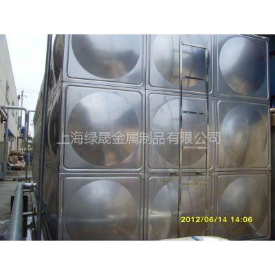 供应不锈钢水箱  彩钢板 镀锌板保温