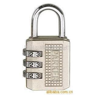 供应各种款式工艺密码锁  箱包挂锁