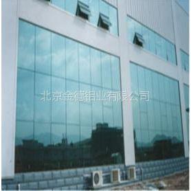 供应北京玻璃幕墙铝型材 各种铝材现货欢迎选购!