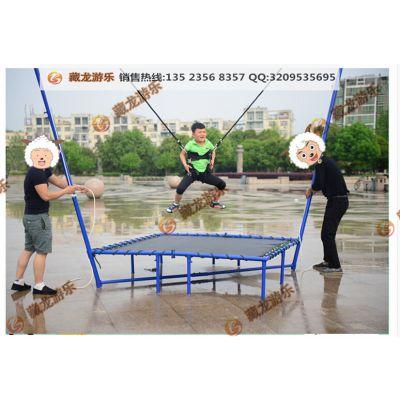 郑州市哪里卖儿童游乐蹦极 儿童飞天弹跳蹦极 蹦极威奇厂家直销
