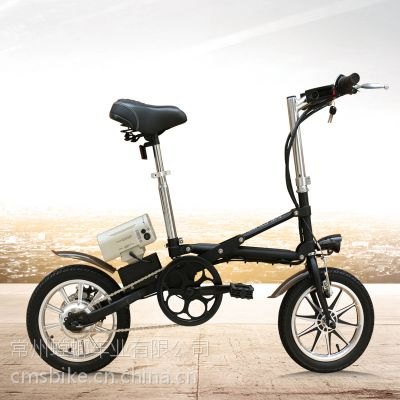 厂家直销都市螳螂CMS一秒折叠锂电车折叠电动自行车新款迷你小型电动车