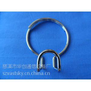 供应冷镀彩锌理线钢圈 理线圈 热镀锌理线环